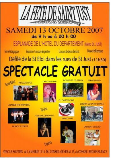 Fêtes de st just 13 Octobre 2007