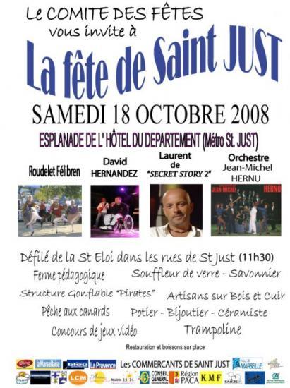 Fête de st just 18 octobre 2008