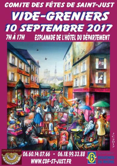 Vide greniers 10 septembre 2017